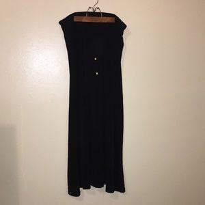 Black Michael Michael Kors Maxi Skirt